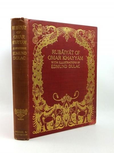 Rubaiyat of Omar Khayyam illustrated by Edmund Dulac