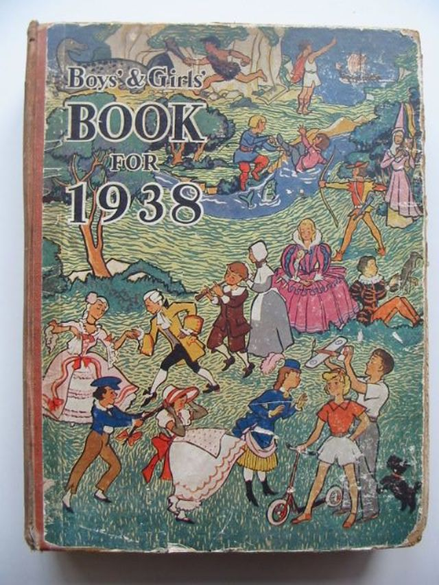 Photo of BOYS' & GIRLS' BOOK FOR 1938- Stock Number: 1101995