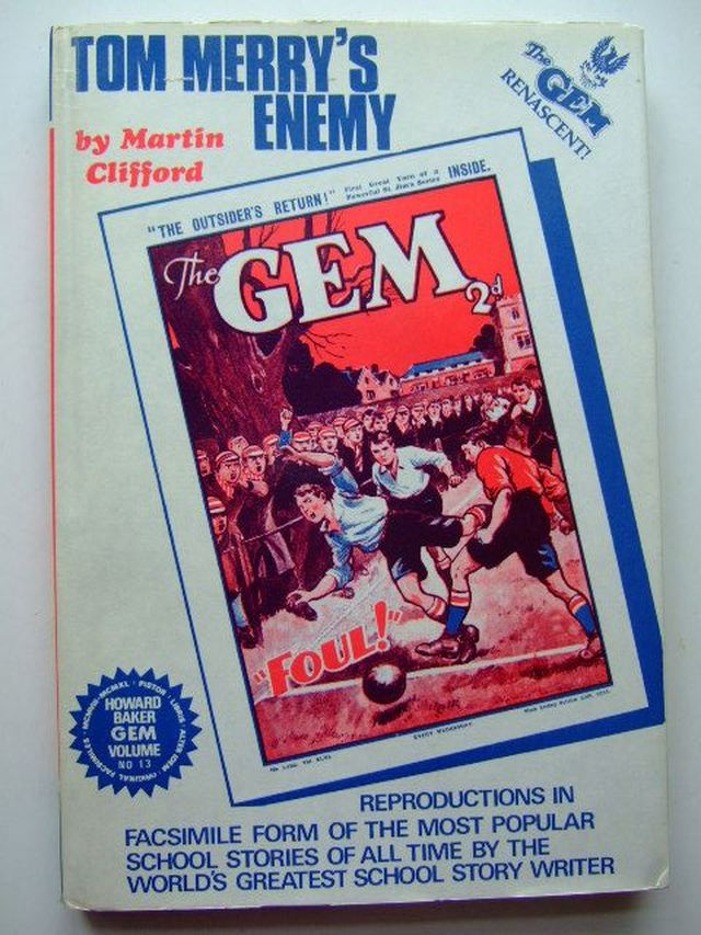 Photo of TOM MERRY'S ENEMY written by Clifford, Martin<br />Richards, Frank published by Howard Baker (STOCK CODE: 1105605)  for sale by Stella & Rose's Books