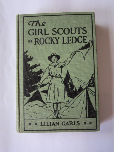Photo of THE GIRL SCOUTS AT ROCKY LEDGE written by Garis, Lilian illustrated by Gooch, Thelma published by Cupples & Leon Company (STOCK CODE: 1106243)  for sale by Stella & Rose's Books