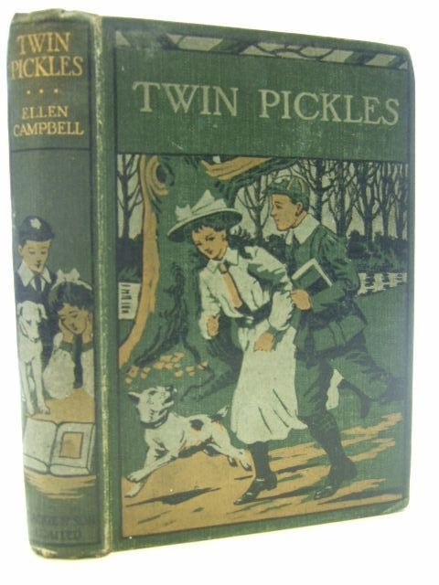 Photo of TWIN PICKLES written by Campbell, Ellen illustrated by Hardy, Paul published by Blackie & Son Ltd. (STOCK CODE: 1106734)  for sale by Stella & Rose's Books