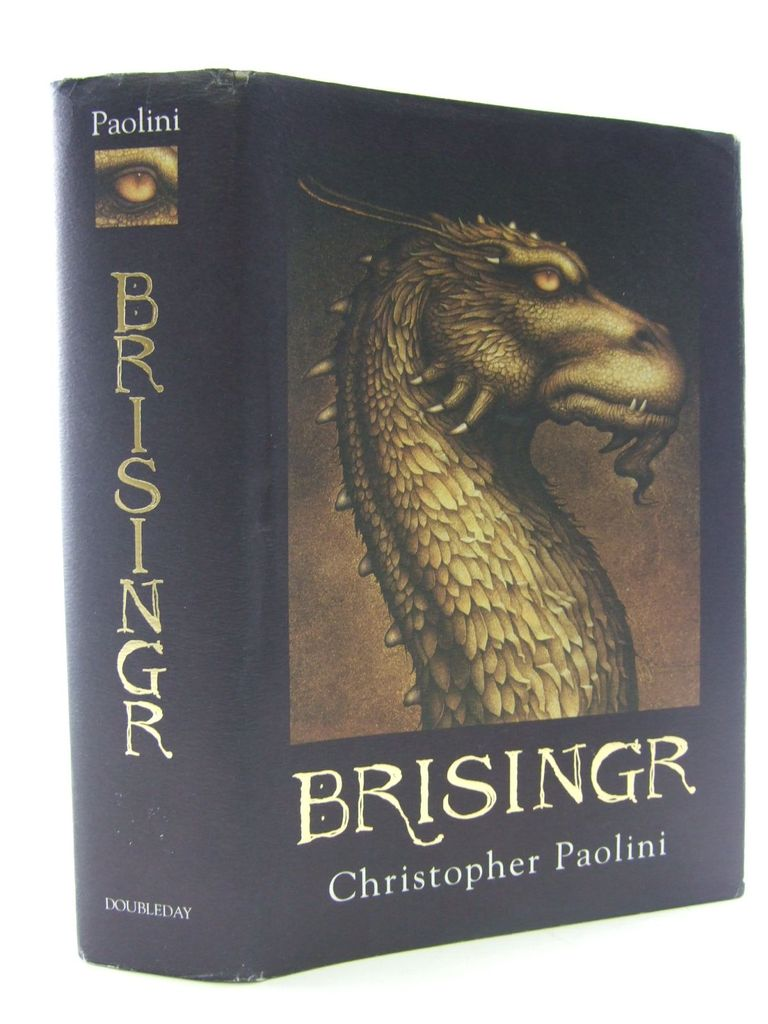 Photo of BRISINGR written by Paolini, Christopher published by Doubleday (STOCK CODE: 1106980)  for sale by Stella & Rose's Books