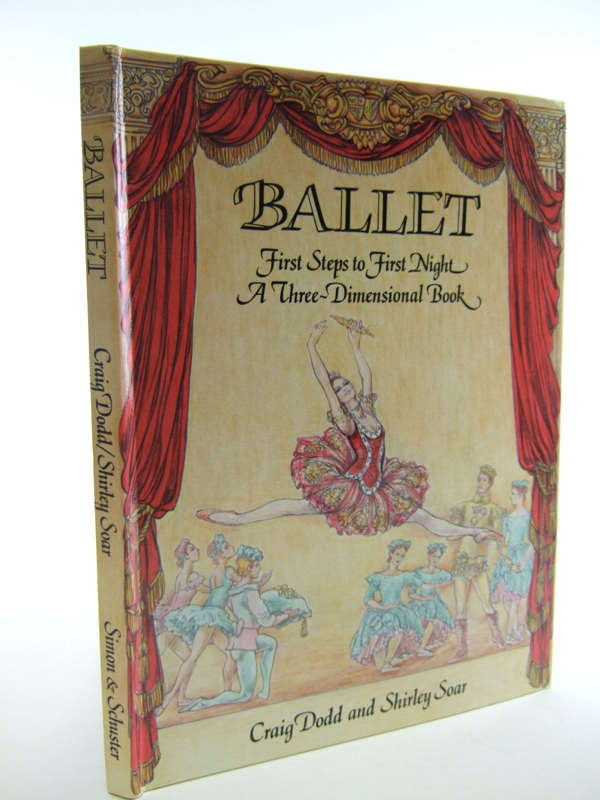 Photo of BALLET FIRST STEPS TO FIRST NIGHT written by Dodd, Craig illustrated by Soar, Shirley published by Simon & Schuster (STOCK CODE: 1107267)  for sale by Stella & Rose's Books