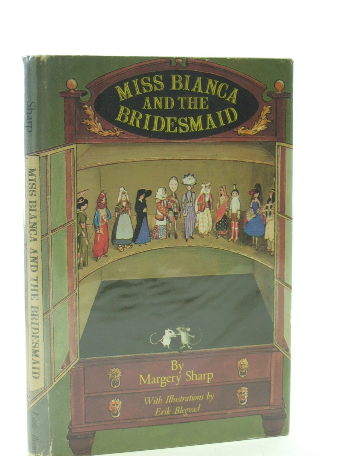 Photo of MISS BIANCA AND THE BRIDESMAID written by Sharp, Margery illustrated by Blegvad, Erik published by Little, Brown and Company (STOCK CODE: 1107502)  for sale by Stella & Rose's Books