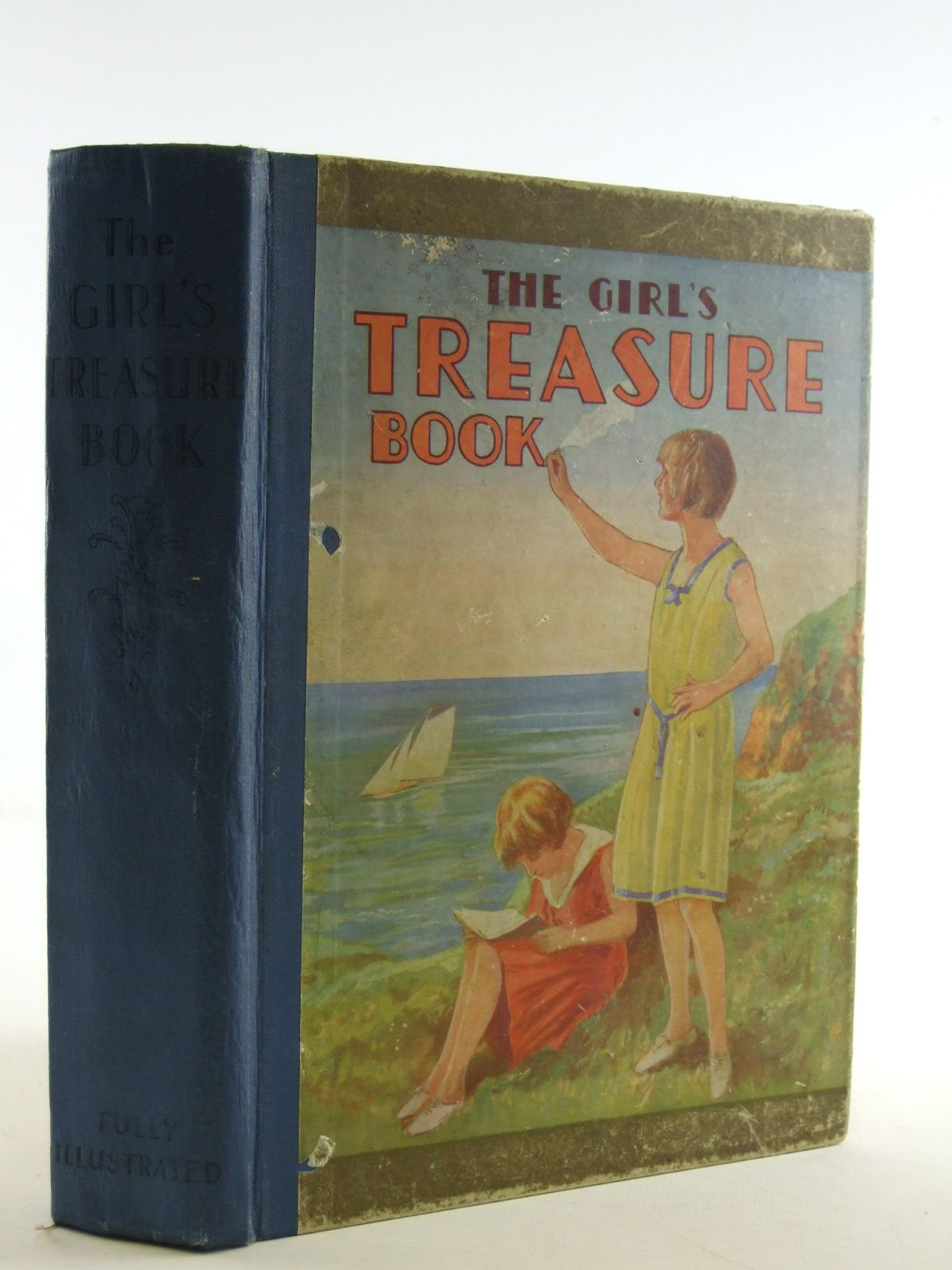 Photo of THE GIRL'S TREASURE BOOK written by Golden, Grace Mary<br />Wilson, J.M.<br />Chaundler, Christine<br />Field, Margaret C.<br />et al,  (STOCK CODE: 1107872)  for sale by Stella & Rose's Books