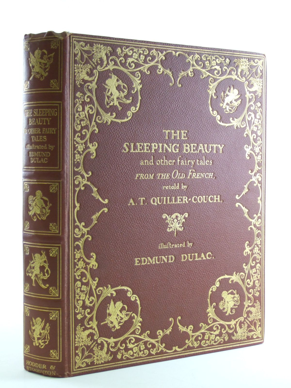 Photo of THE SLEEPING BEAUTY & OTHER FAIRY TALES FROM THE OLD FRENCH written by Quiller-Couch, Arthur illustrated by Dulac, Edmund published by Hodder & Stoughton (STOCK CODE: 1108296)  for sale by Stella & Rose's Books