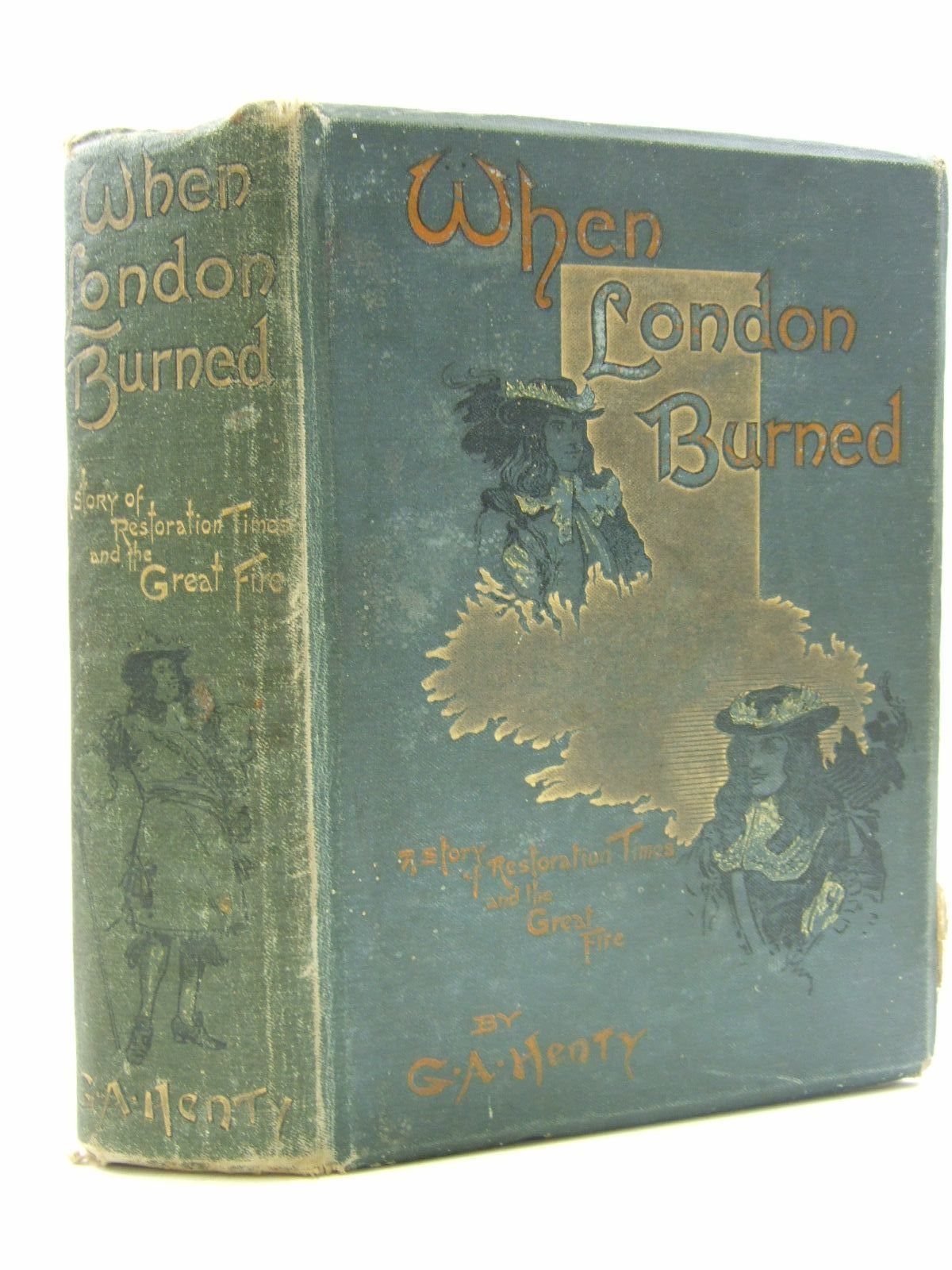 Photo of WHEN LONDON BURNED written by Henty, G.A. illustrated by Finnemore, J. published by Blackie & Son Ltd. (STOCK CODE: 1108435)  for sale by Stella & Rose's Books
