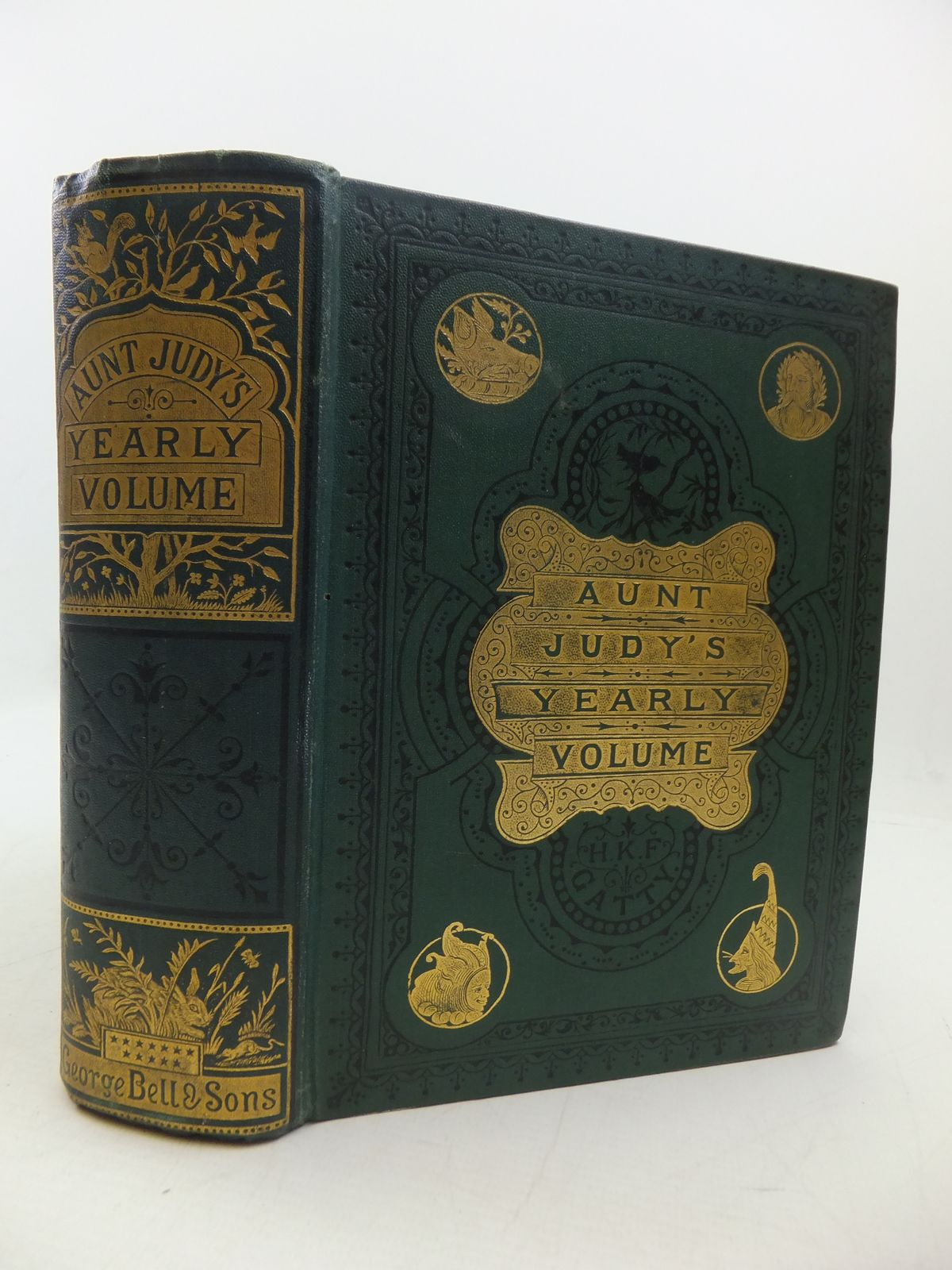 Photo of AUNT JUDY'S CHRISTMAS VOLUME FOR 1874