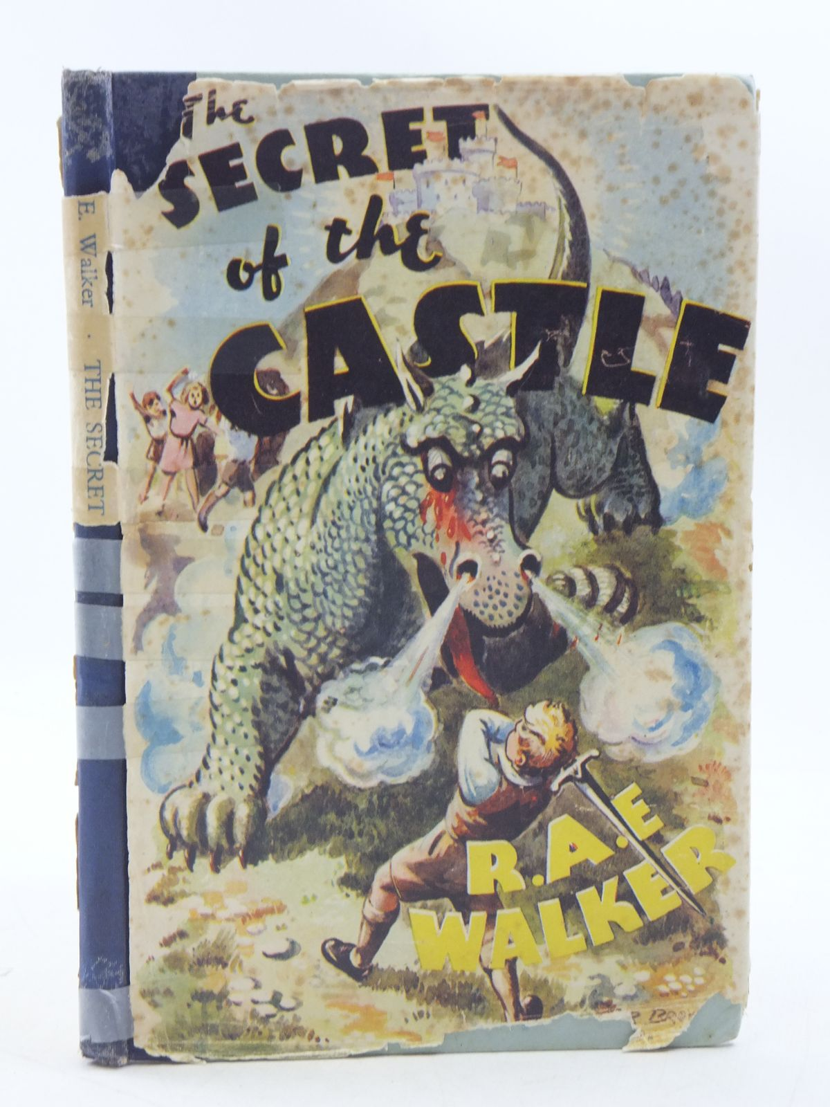 Photo of THE SECRET OF THE CASTLE written by Walker, R.A.E. published by Blandford Press Ltd. (STOCK CODE: 1108557)  for sale by Stella & Rose's Books