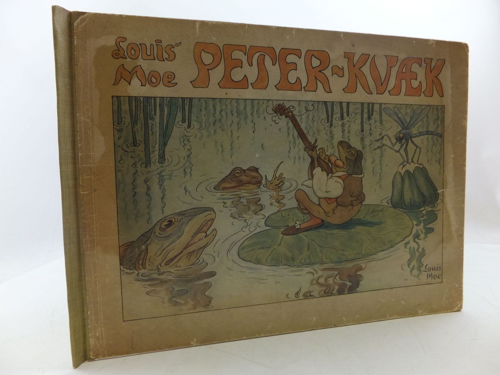 Photo of PETER-KVAEK written by Moe, Louis illustrated by Moe, Louis published by Henrik Koppels Forlag (STOCK CODE: 1108586)  for sale by Stella & Rose's Books