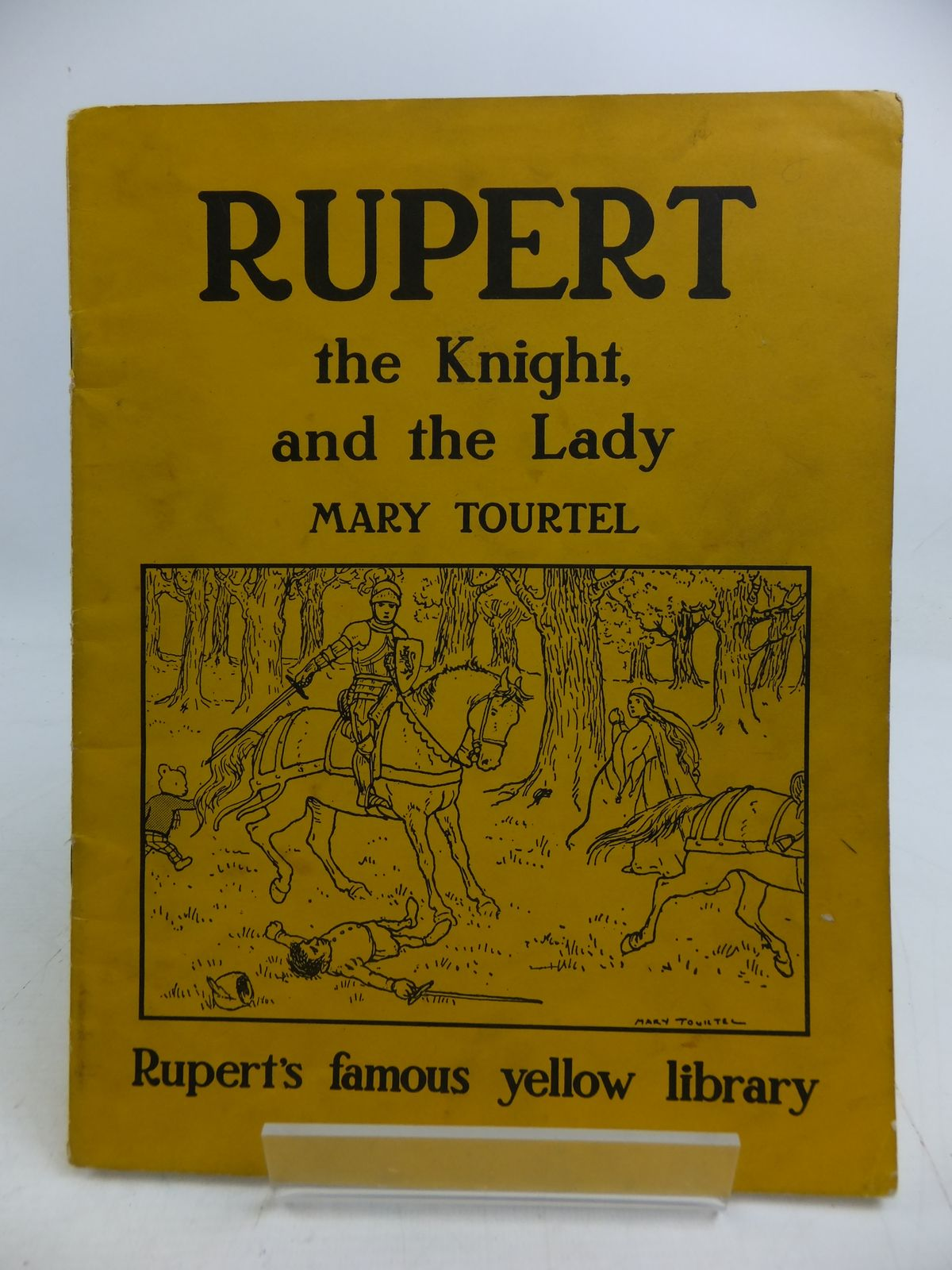 Photo of RUPERT THE KNIGHT AND THE LADY written by Tourtel, Mary published by Sampson Low, Marston & Co. Ltd. (STOCK CODE: 1108865)  for sale by Stella & Rose's Books