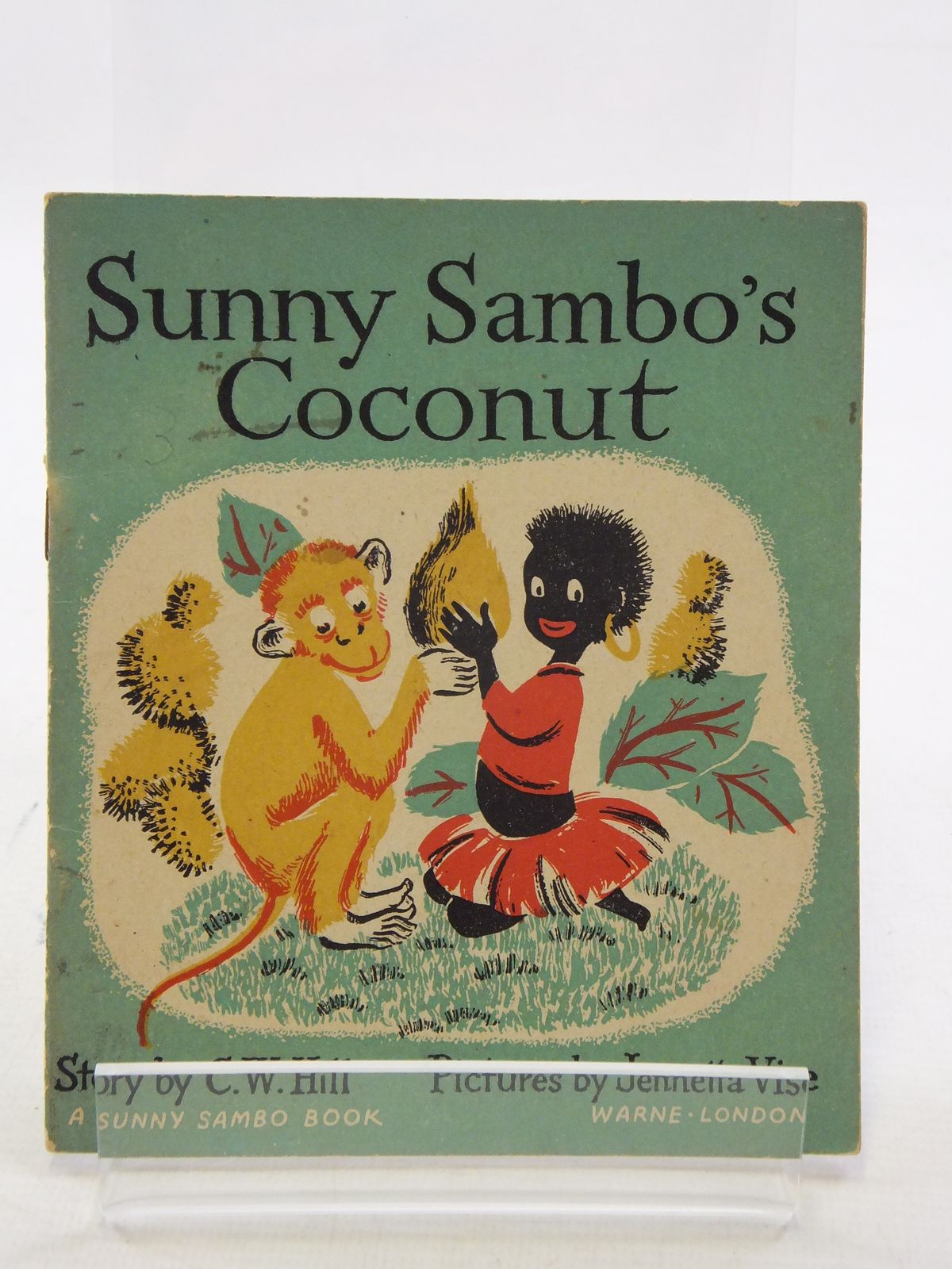 Photo of SUNNY SAMBO'S COCONUT written by Hill, C.W. illustrated by Vise, Jennetta published by Warne, Eden Press (STOCK CODE: 1108996)  for sale by Stella & Rose's Books