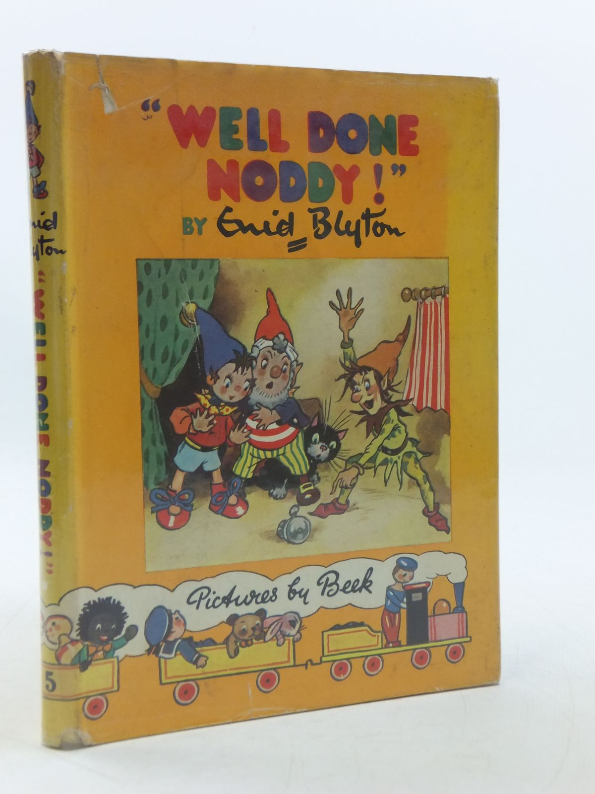 Photo of WELL DONE NODDY! written by Blyton, Enid illustrated by Beek,  published by Sampson Low, Marston & Co. Ltd. (STOCK CODE: 1109059)  for sale by Stella & Rose's Books