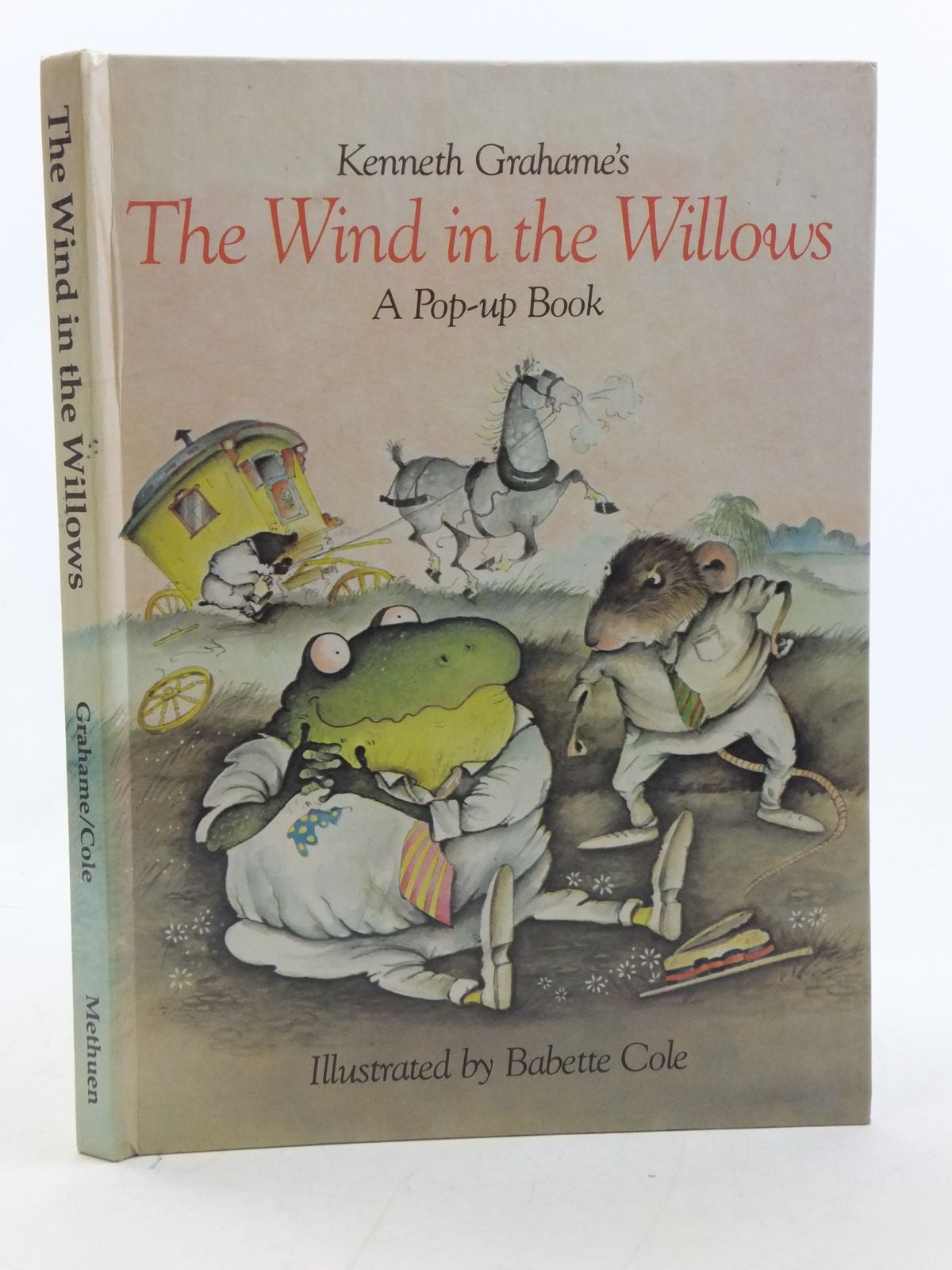 Photo of THE WIND IN THE WILLOWS A POP-UP BOOK
