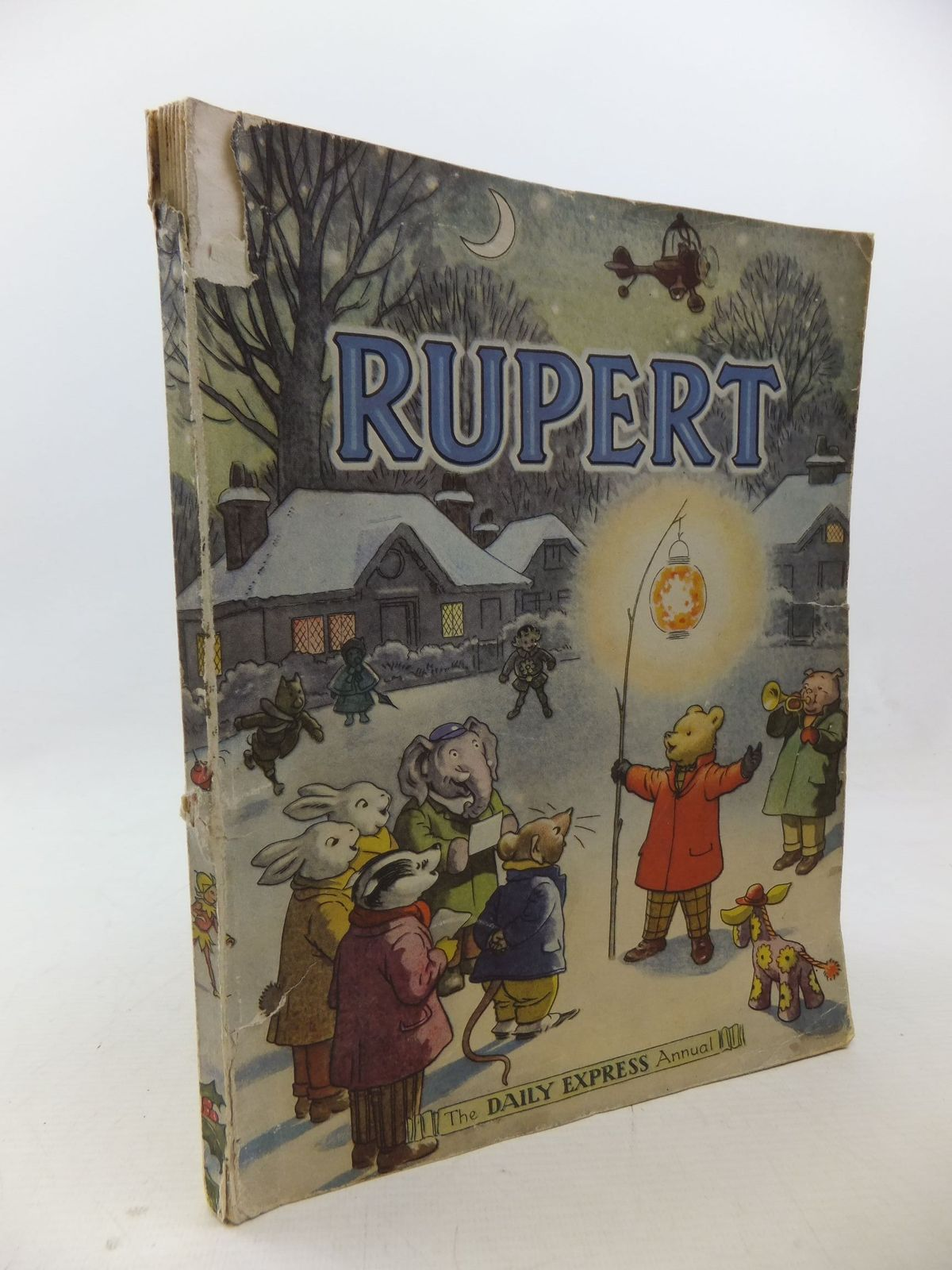Photo of RUPERT ANNUAL 1949 written by Bestall, Alfred illustrated by Bestall, Alfred published by Daily Express (STOCK CODE: 1109148)  for sale by Stella & Rose's Books