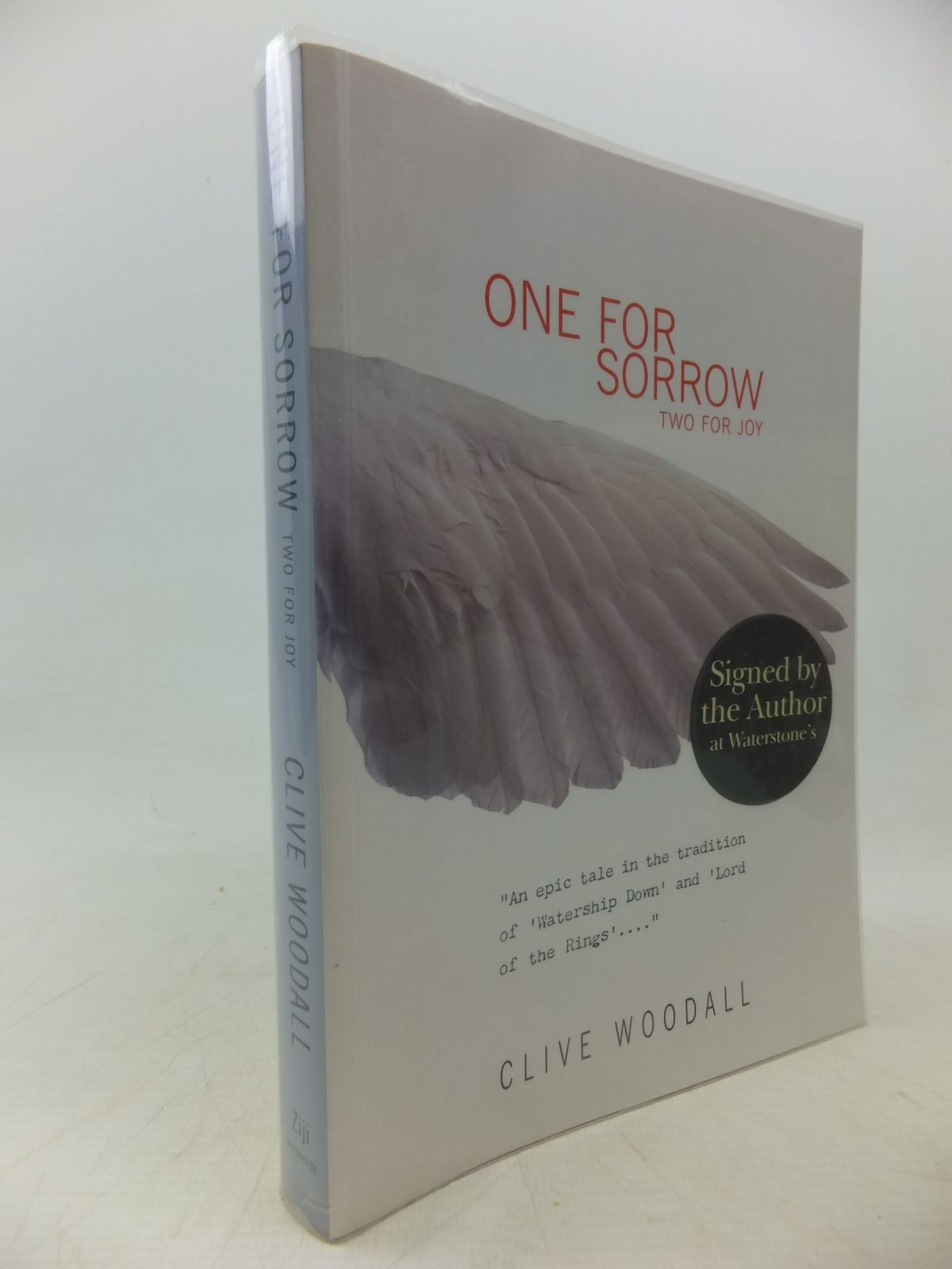 Photo of ONE FOR SORROW TWO FOR JOY written by Woodall, Clive published by Duckworth (STOCK CODE: 1109165)  for sale by Stella & Rose's Books