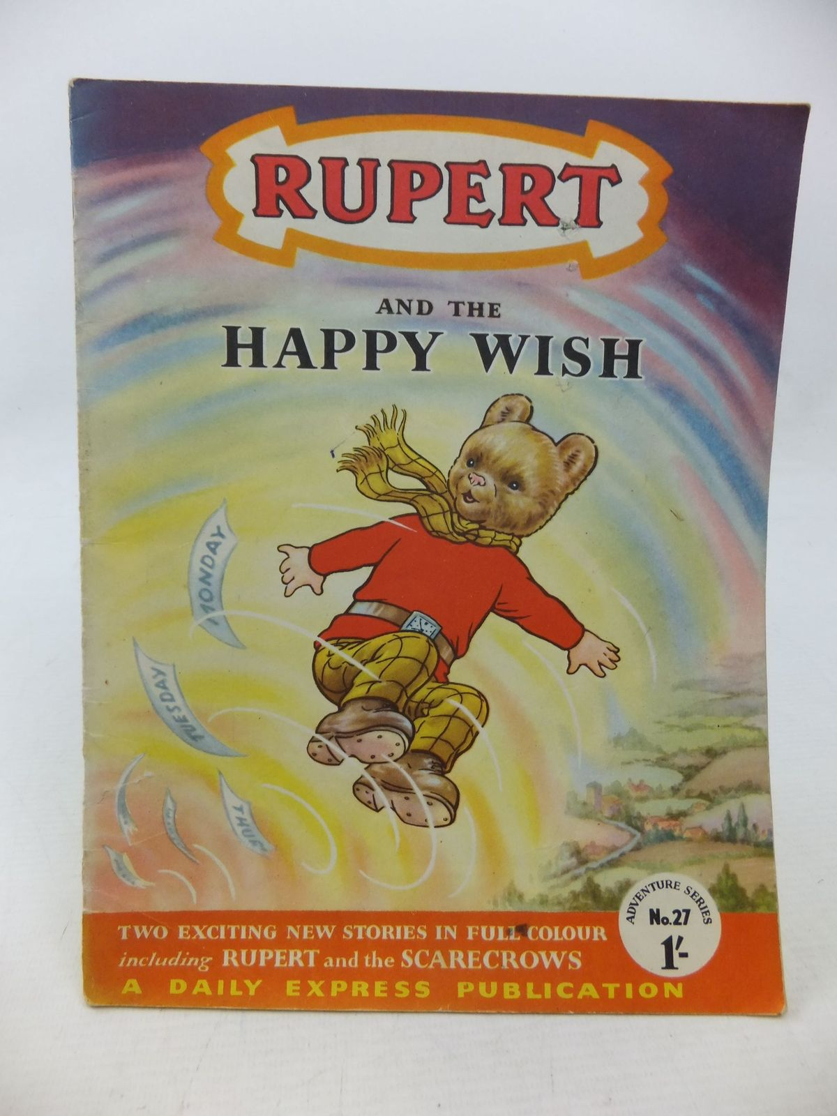 Photo of RUPERT ADVENTURE SERIES No. 27 - RUPERT AND THE HAPPY WISH written by Bestall, Alfred published by Daily Express (STOCK CODE: 1109175)  for sale by Stella & Rose's Books