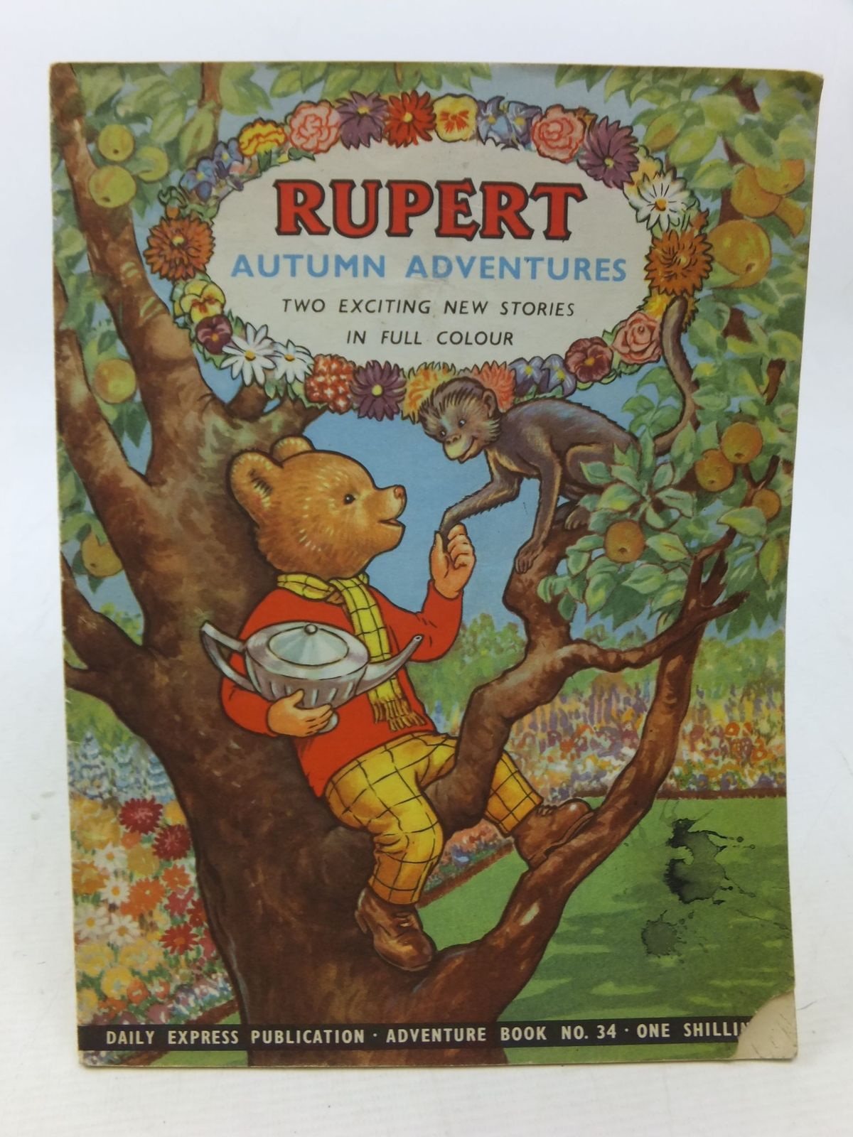 Photo of RUPERT ADVENTURE BOOK No. 34 - AUTUMN ADVENTURES written by Bestall, Alfred published by Daily Express (STOCK CODE: 1109231)  for sale by Stella & Rose's Books