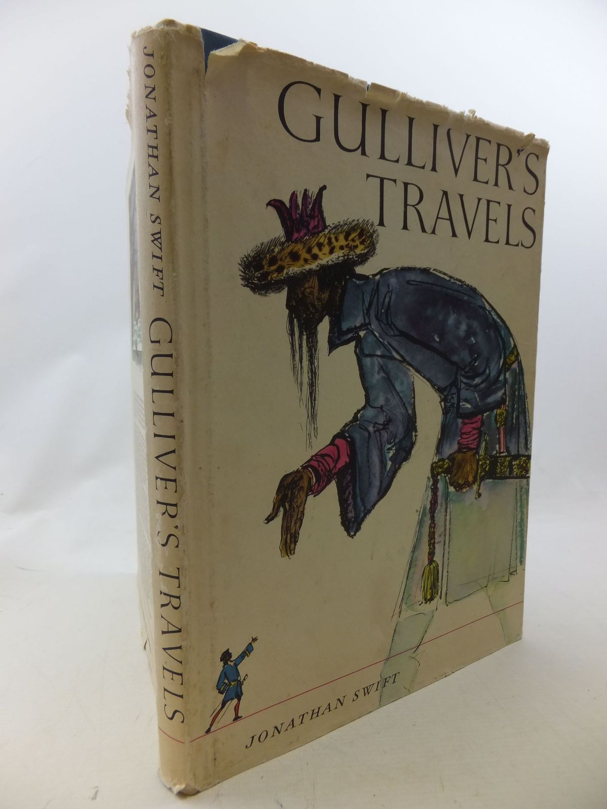 Photo of GULLIVER'S TRAVELS written by Swift, Jonathan<br />Moss, Elaine illustrated by Baltzer, Hans published by Constable & Co. Ltd. (STOCK CODE: 1109344)  for sale by Stella & Rose's Books
