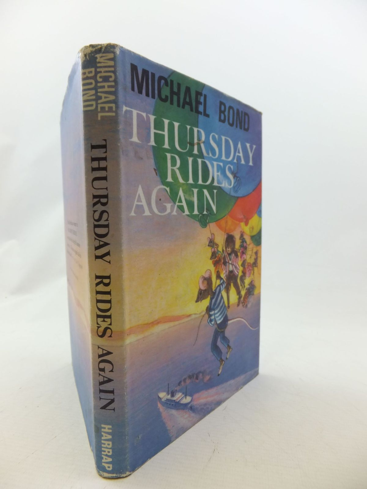 Photo of THURSDAY RIDES AGAIN written by Bond, Michael illustrated by Sanders, Beryl published by George G. Harrap & Co. Ltd. (STOCK CODE: 1109397)  for sale by Stella & Rose's Books