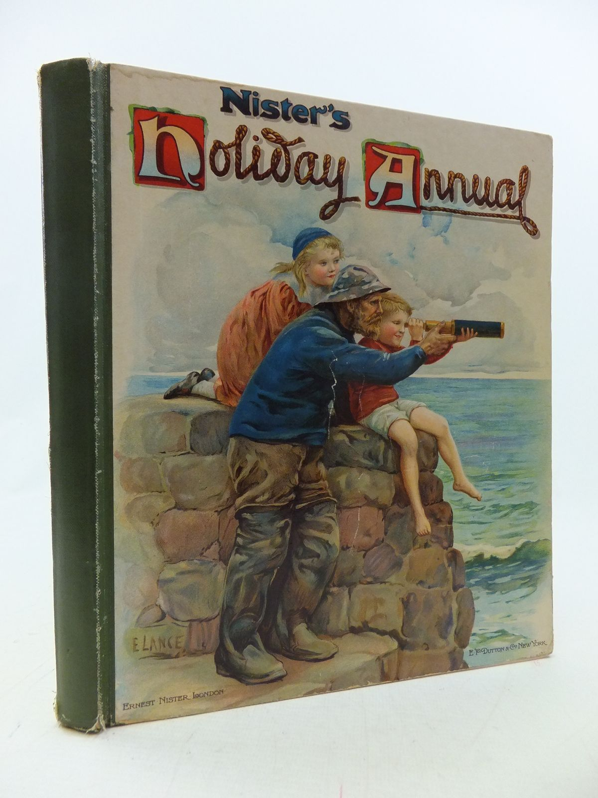 Photo of NISTER'S HOLIDAY ANNUAL FOR 1907 written by Playne, Alfred C.<br />Fenn, George Manville<br />Bingham, Clifton<br />et al, illustrated by Hardy, E. Stuart<br />Cubitt, Edith A.<br />et al., published by Ernest Nister, E.P. Dutton & Co. (STOCK CODE: 1109462)  for sale by Stella & Rose's Books