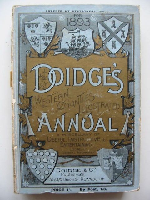 Photo of DOIDGE'S WESTERN COUNTIES ILLUSTRATED ANNUAL 1893 published by Doidge & Co (STOCK CODE: 1201040)  for sale by Stella & Rose's Books