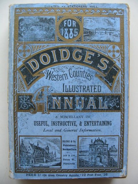Photo of DOIDGE'S WESTERN COUNTIES ILLUSTRATED ANNUAL 1885 published by Doidge & Co (STOCK CODE: 1201042)  for sale by Stella & Rose's Books
