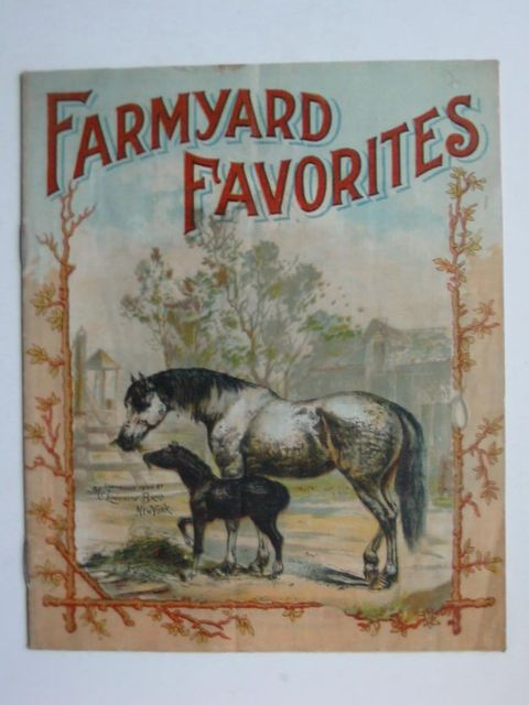 Photo of FARMYARD FAVORITES published by McLoughlin Bros. (STOCK CODE: 1201099)  for sale by Stella & Rose's Books