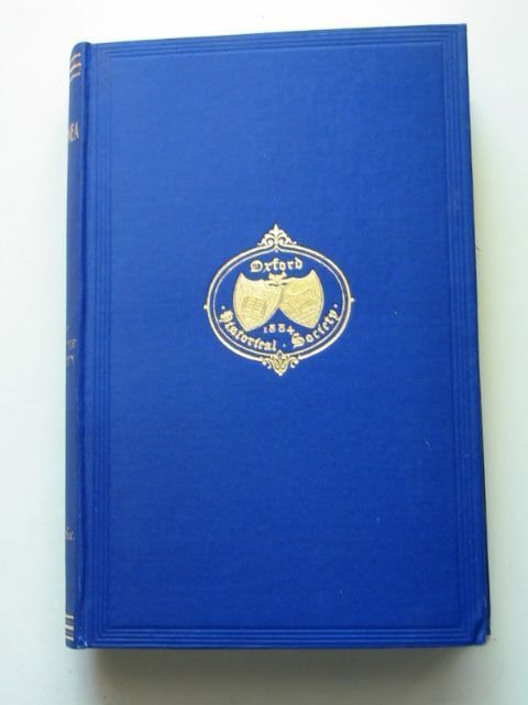 Photo of COLLECTANEA IV published by Oxford Historical Society (STOCK CODE: 1201338)  for sale by Stella & Rose's Books