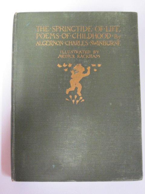 Photo of THE SPRINGTIDE OF LIFE written by Swinburne, Algernon C.<br />Gosse, Edmund illustrated by Rackham, Arthur published by William Heinemann (STOCK CODE: 1202693)  for sale by Stella & Rose's Books
