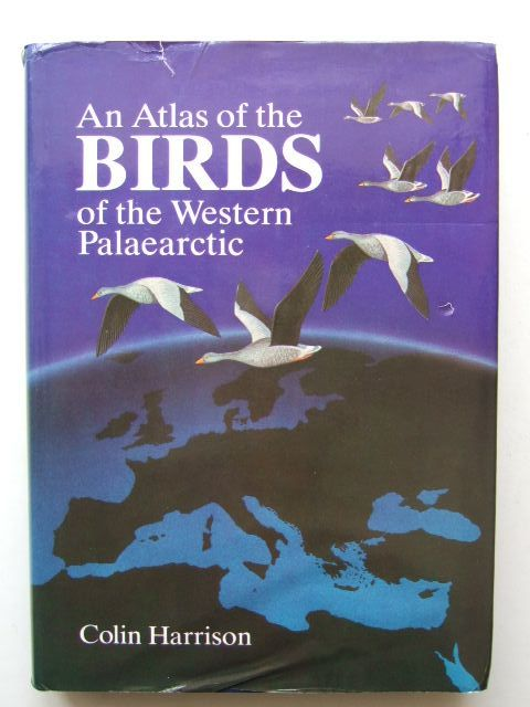 Photo of AN ATLAS OF THE BIRDS OF THE WESTERN PALAEARCTIC written by Harrison, Colin published by Collins (STOCK CODE: 1203435)  for sale by Stella & Rose's Books