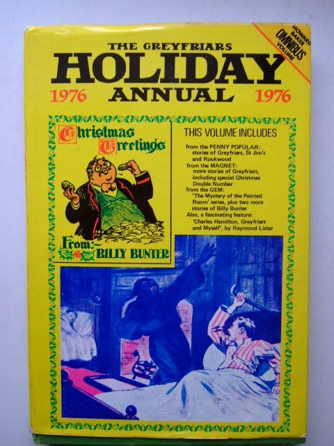 Photo of THE GREYFRIARS HOLIDAY ANNUAL 1976 written by Richards, Frank<br />Todd, Peter<br />Clifford, Martin<br />et al,  published by Howard Baker Press (STOCK CODE: 1203748)  for sale by Stella & Rose's Books
