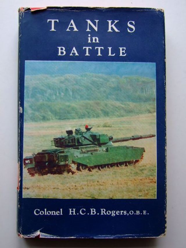 Photo of TANKS IN BATTLE written by Rogers, H.C.B. published by Seeley, Service & Co. (STOCK CODE: 1203788)  for sale by Stella & Rose's Books