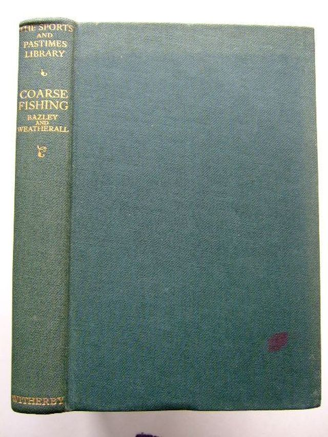 Photo of COARSE FISHING written by Bazley, J.H.R.<br />Weatherall, Norman L. published by H.F. & G. Witherby Ltd. (STOCK CODE: 1203829)  for sale by Stella & Rose's Books