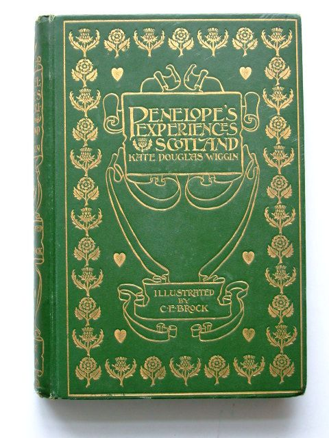 Photo of PENELOPE'S EXPERIENCES IN SCOTLAND written by Wiggin, Kate Douglas illustrated by Brock, C.E. published by Gay and Bird (STOCK CODE: 1204381)  for sale by Stella & Rose's Books