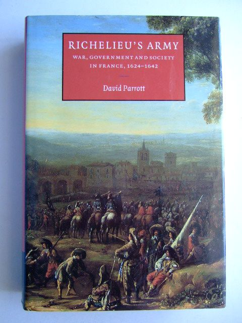 Photo of RICHELIEU'S ARMY written by Parrott, David published by Cambridge University Press (STOCK CODE: 1204673)  for sale by Stella & Rose's Books