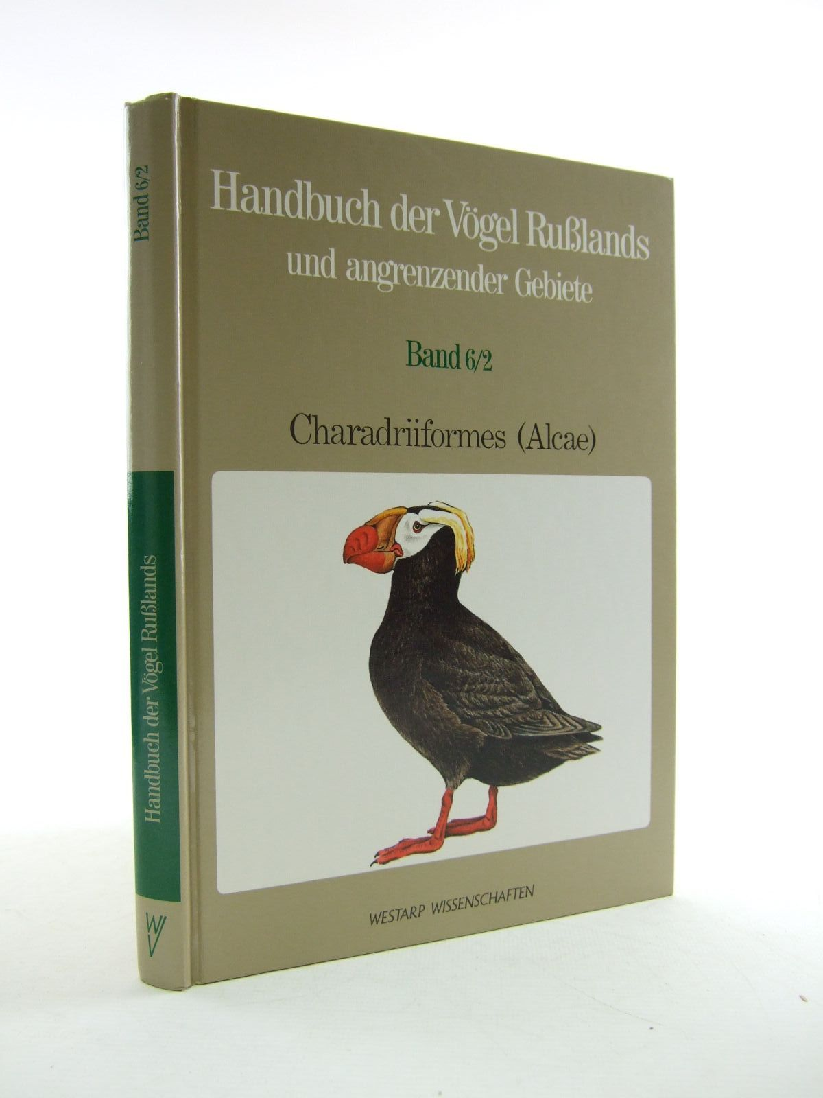 Photo of HANDBUCH DER VOGEL RUSLANDS UND ANGRENZENDER GEBIETE BAND 6/2 written by Flint, V.E.<br />Golovkin, A.N. published by Westarp Wissenschaften (STOCK CODE: 1206634)  for sale by Stella & Rose's Books