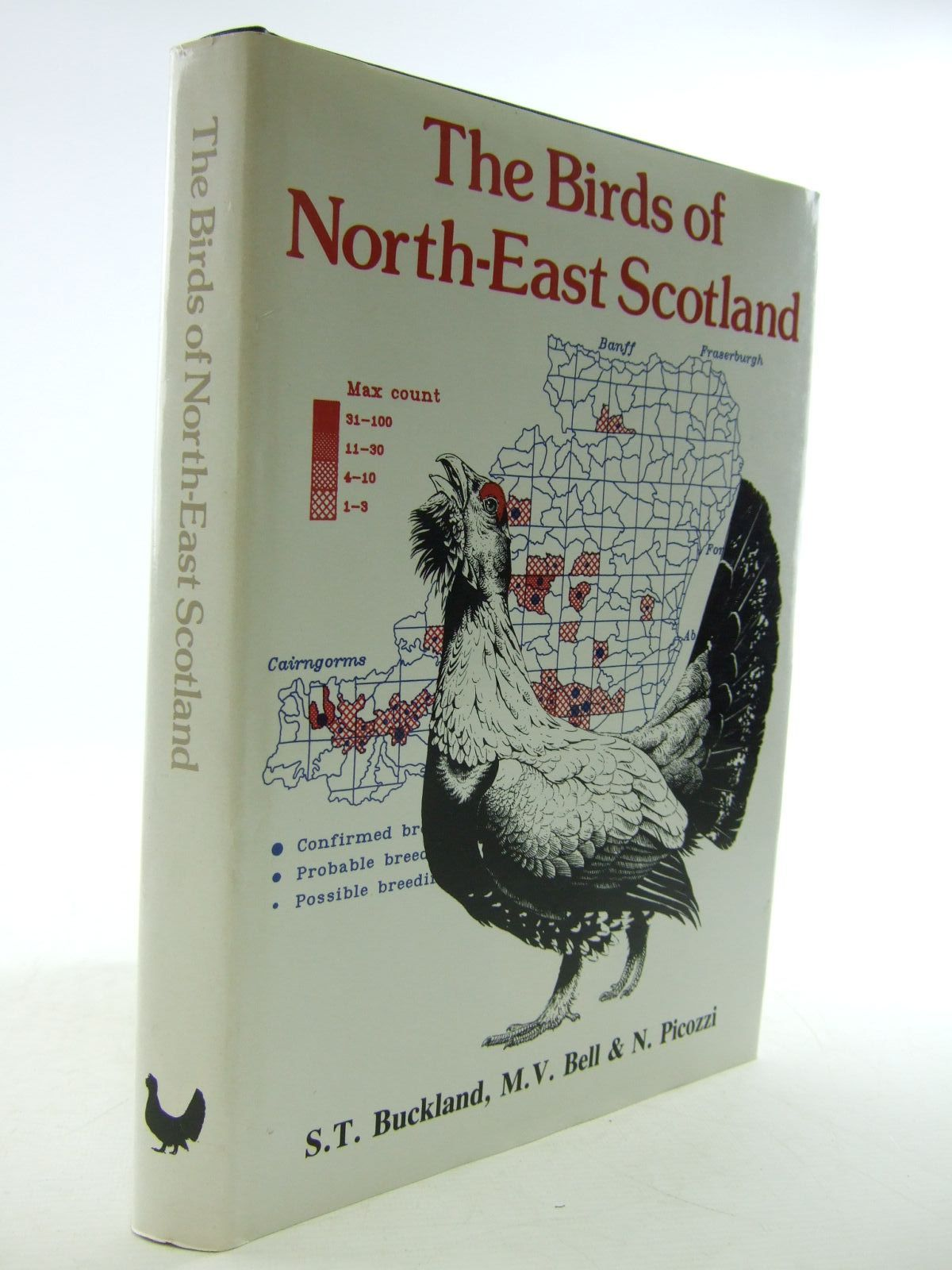 Photo of THE BIRDS OF NORTH-EAST SCOTLAND written by Buckland, S.T.<br />Bell, M.V.<br />Picozzi, N. illustrated by Brockie, Keith published by North-East Scotland Bird Club (STOCK CODE: 1206676)  for sale by Stella & Rose's Books