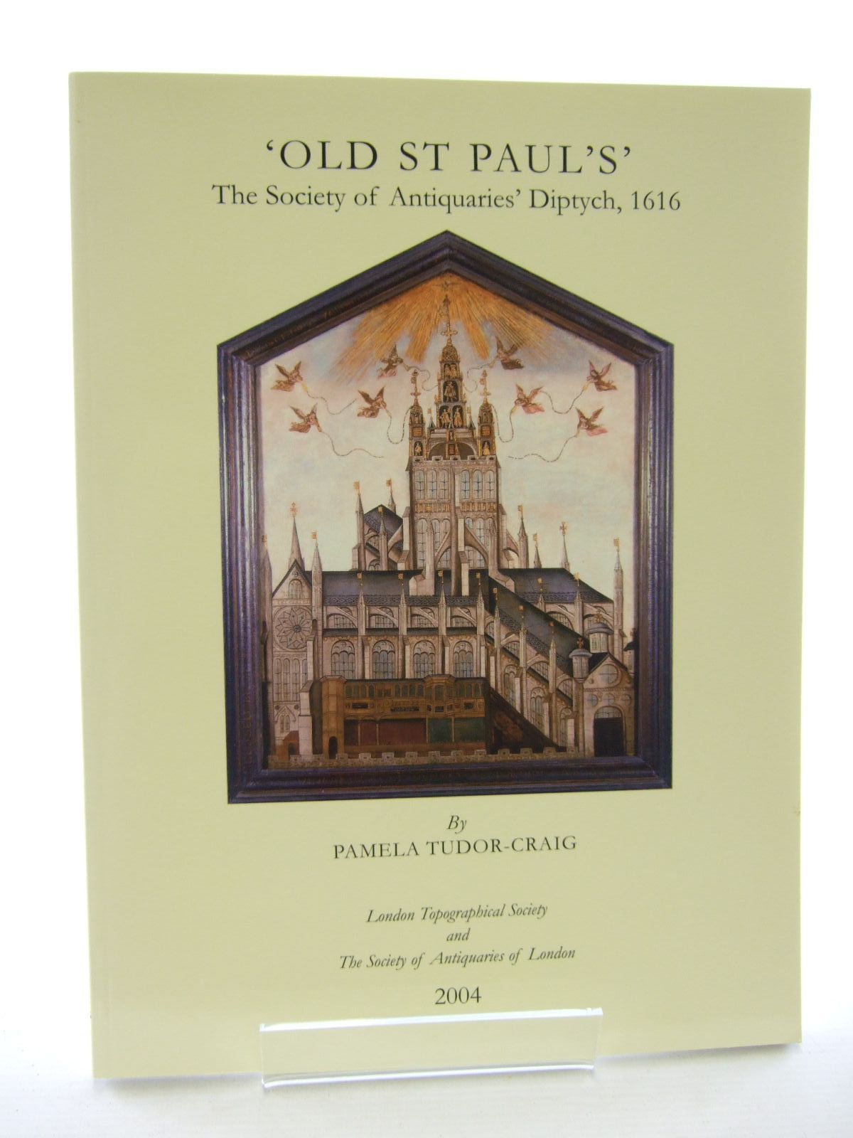 Photo of OLD ST PAUL'S written by Tudor-Craig, Pamela<br />et al,  published by London Topographical Society (STOCK CODE: 1206775)  for sale by Stella & Rose's Books