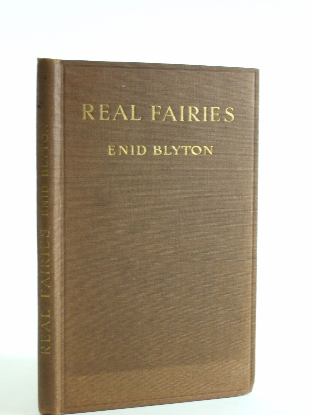 Photo of REAL FAIRIES written by Blyton, Enid published by J. Saville & Co. Ltd. (STOCK CODE: 1206927)  for sale by Stella & Rose's Books