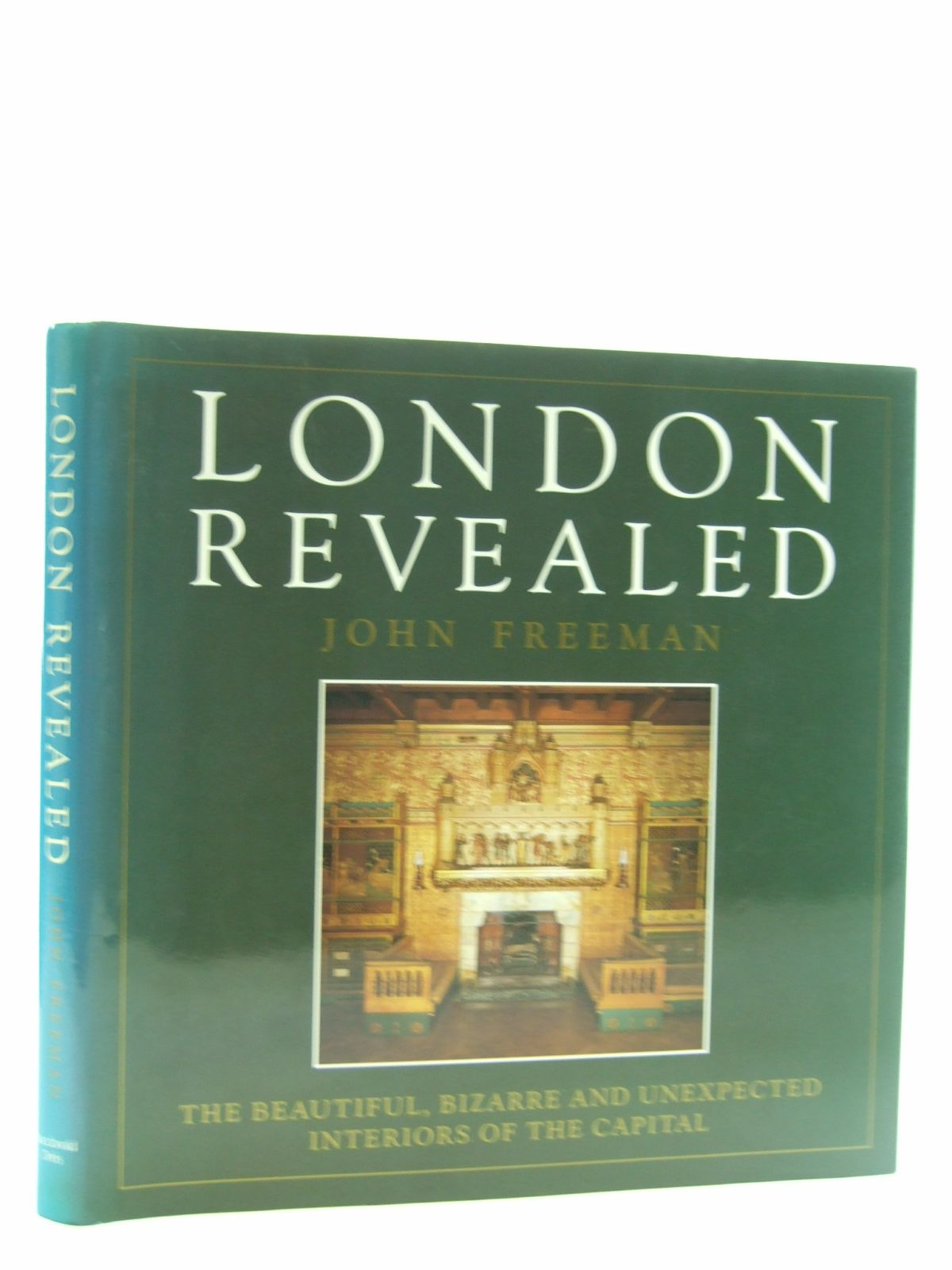 Photo of LONDON REVEALED written by Freeman, John published by Macdonald Orbis (STOCK CODE: 1206941)  for sale by Stella & Rose's Books