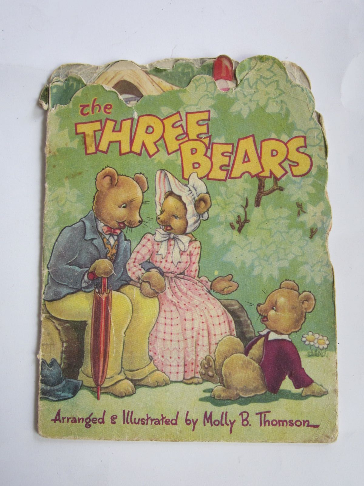 Photo of THE THREE BEARS written by Thomson, Molly B. illustrated by Thomson, Molly published by Collins Clear-Type Press (STOCK CODE: 1207335)  for sale by Stella & Rose's Books
