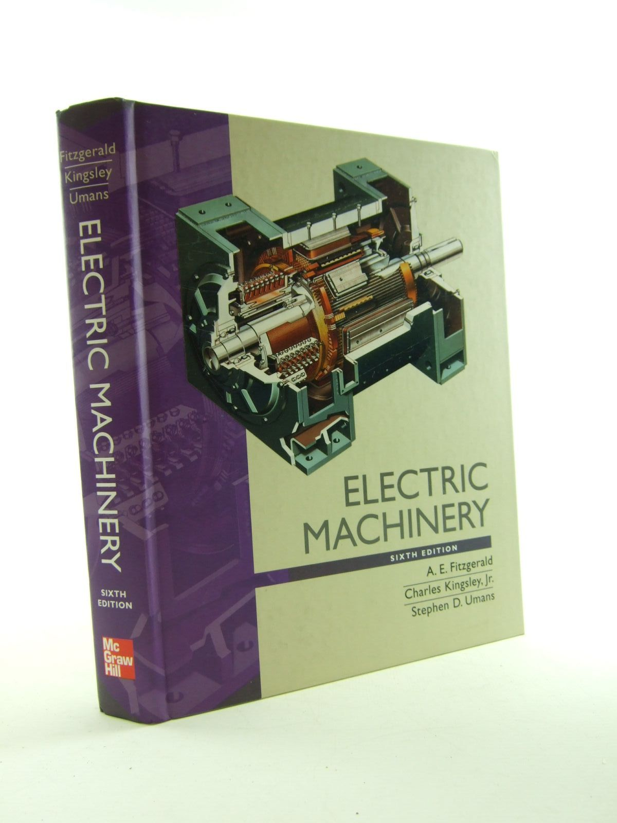Photo of ELECTRIC MACHINERY written by Fitzgerald, A.E.<br />Kingsley, Charles<br />Umans, Stephen D. published by McGraw-Hill (STOCK CODE: 1207435)  for sale by Stella & Rose's Books