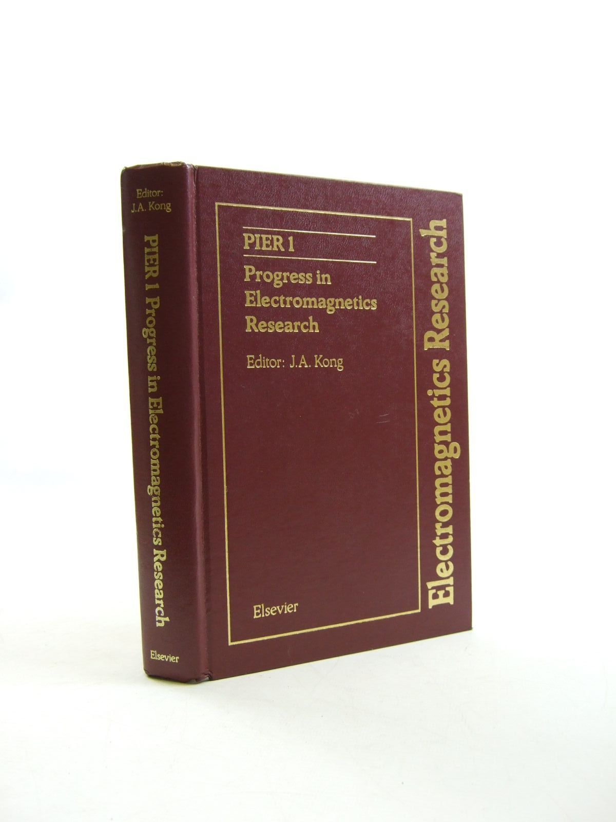 Photo of PROGRESS IN ELECTROMAGNETICS RESEARCH written by Kong, Jin Au published by Elsevier (STOCK CODE: 1207472)  for sale by Stella & Rose's Books