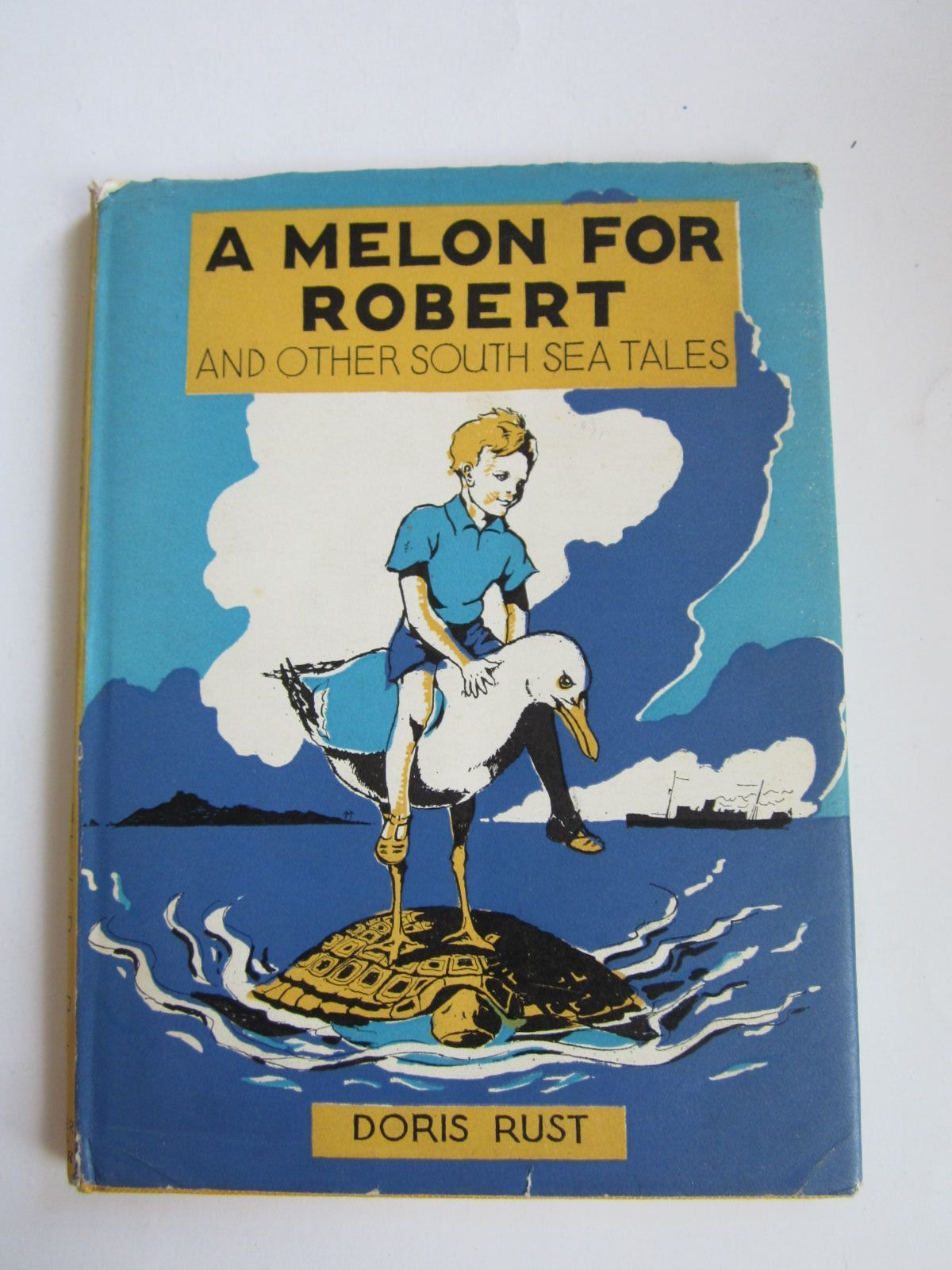 Photo of A MELON FOR ROBERT written by Rust, Doris illustrated by Elgee, Cecil published by Faber & Faber (STOCK CODE: 1207681)  for sale by Stella & Rose's Books