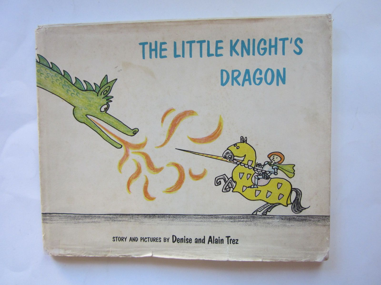 Photo of THE LITTLE KNIGHT'S DRAGON written by Trez, Denise<br />Trez, Alain illustrated by Trez, Denise<br />Trez, Alain published by Faber & Faber (STOCK CODE: 1207737)  for sale by Stella & Rose's Books
