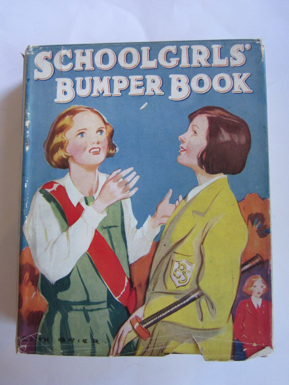 Photo of SCHOOLGIRLS' BUMPER BOOK written by Oldmeadow, Katharine<br />Herbertson, Jessie Leckie<br />et al,  illustrated by Brier, Edith published by Collins Clear-Type Press (STOCK CODE: 1207752)  for sale by Stella & Rose's Books