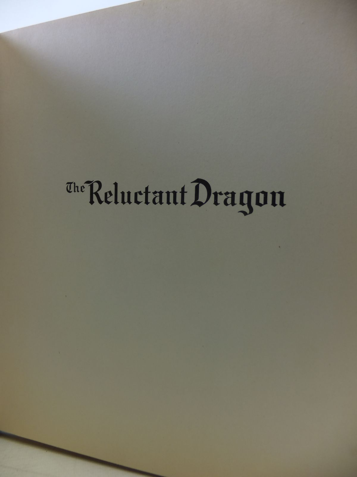 Photo of THE RELUCTANT DRAGON written by Disney, Walt<br />Benchley, Robert<br />Grahame, Kenneth published by Garden City Publishing Co. (STOCK CODE: 1207806)  for sale by Stella & Rose's Books