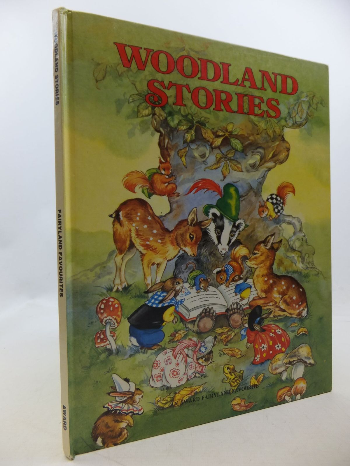 Photo of WOODLAND STORIES written by Cloke, Rene illustrated by Cloke, Rene published by Award Publications (STOCK CODE: 1207845)  for sale by Stella & Rose's Books