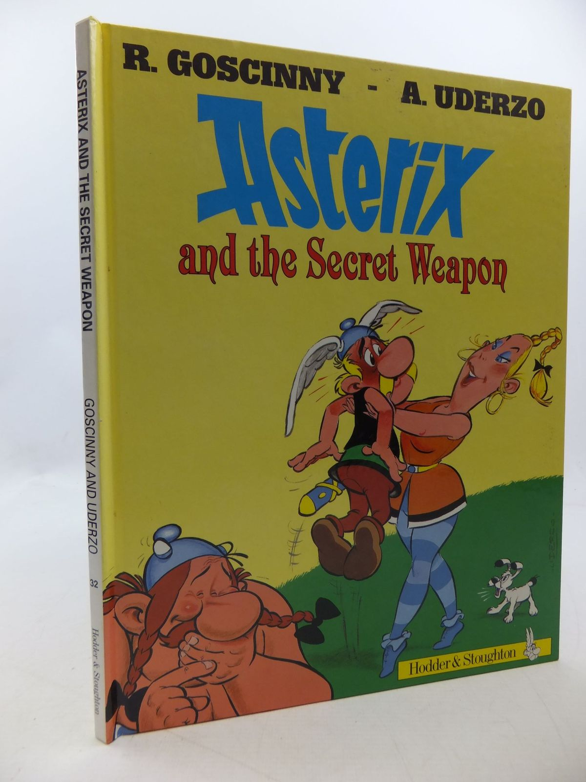 Photo of ASTERIX AND THE SECRET WEAPON written by Goscinny, Rene illustrated by Uderzo, Albert published by Hodder & Stoughton (STOCK CODE: 1207857)  for sale by Stella & Rose's Books